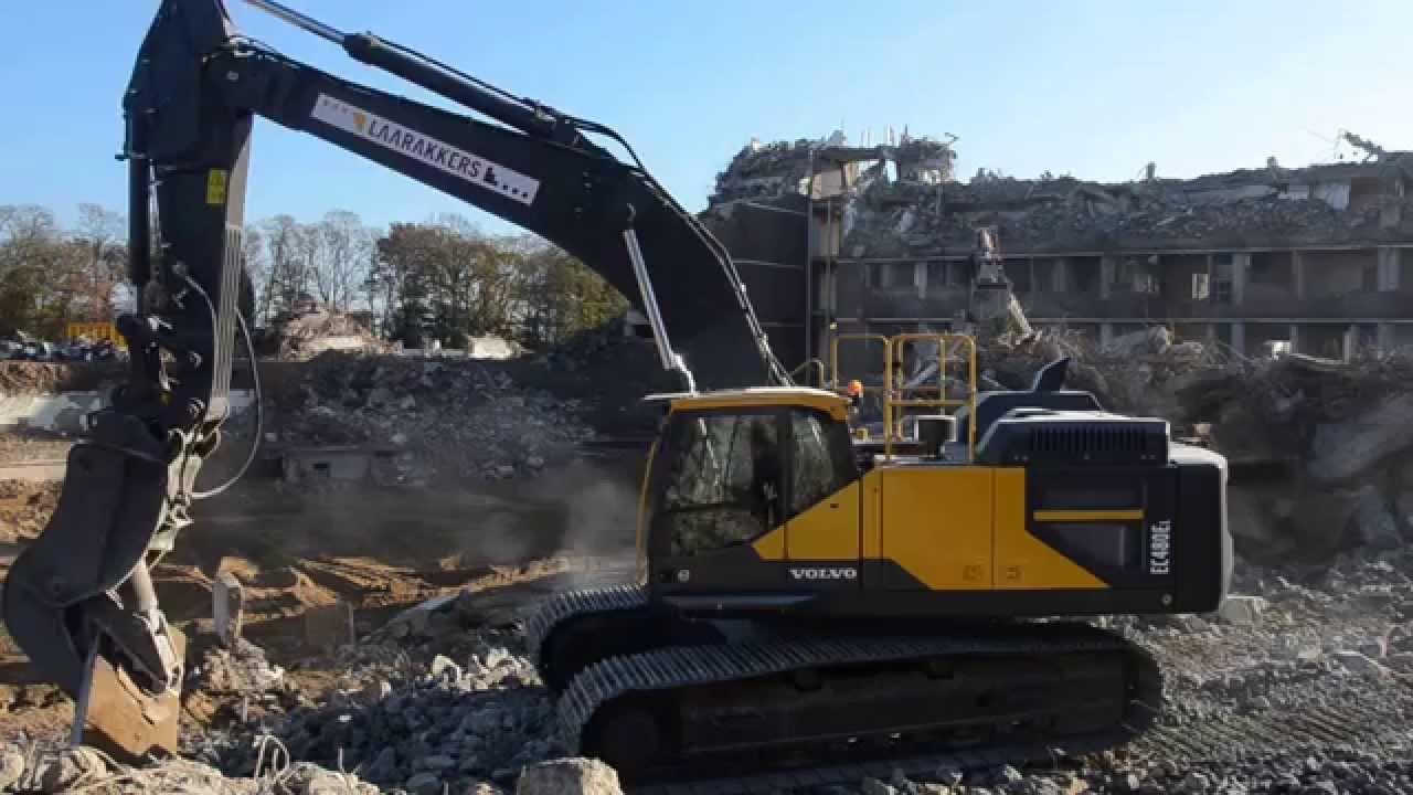 Volvo EC 480E excavator wit VTN VF 33 crusher, Laarakkers ...