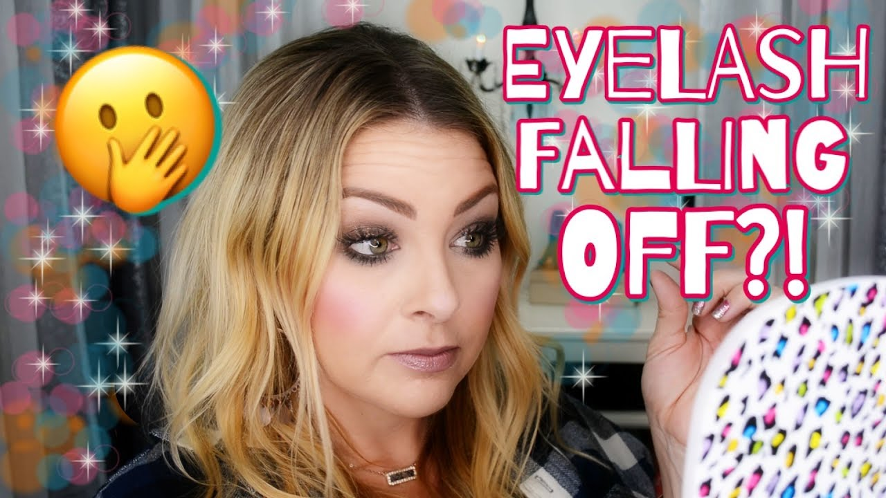 How To Fix False Eyelashes When They Detach: An Easy Tip ...