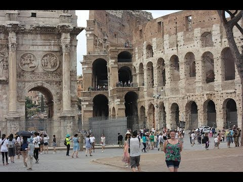 ROME TRIP - AUGUST 2017 - TRAVELLING, POMPEII, ROME, ROOMS, 3 AIRPORTS