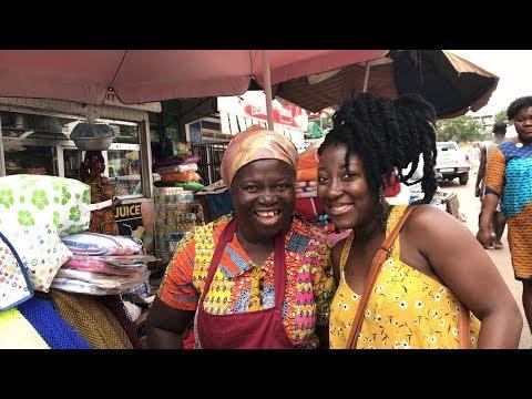 Ghana Vlog 2017 #26 || Lets Go to The Market || Tema community 1 market || Adede