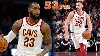 LeBron James & Larry Nance Jr DESTROY Detroit!! INSANE POSTERS! Cavs vs Pistons!