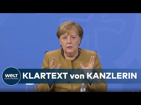 WELT DOKUMENT: Merkel fordert noch weniger Kontakte als bisher