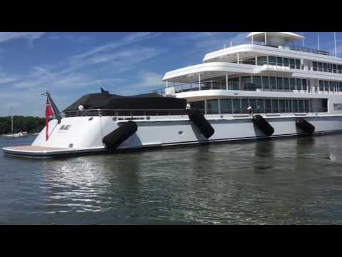 Mark Cuban's Yacht Fountainhead...