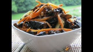 Салат из грибов муэр (Морковь, Чеснок, Грибы)