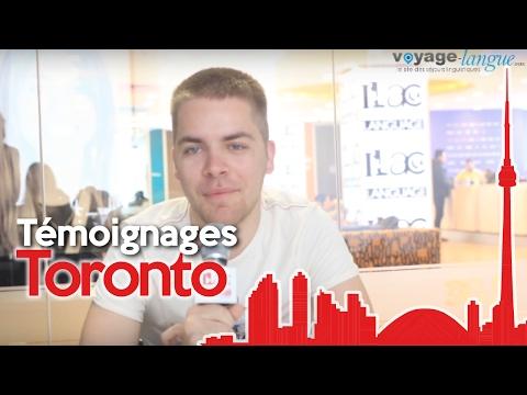 Témoignages Séjour Linguistique à Toronto au Canada - ILAC - Voyage-Langue