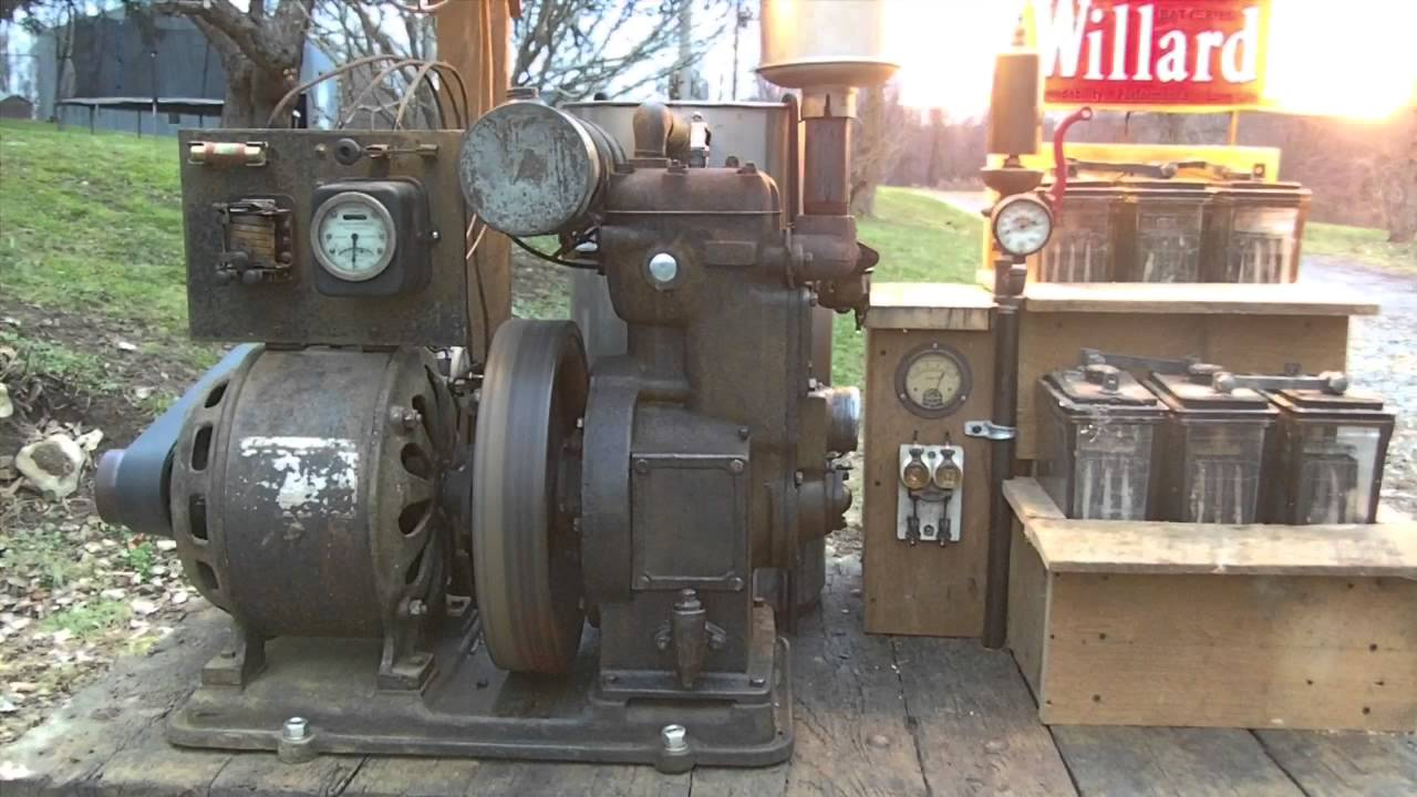 generator sets delco Vintage