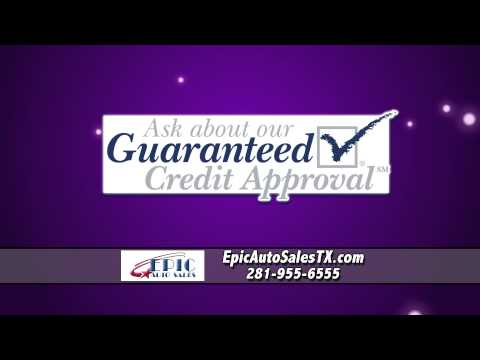 Easy Auto Financing at Epic Auto Sales Houston TX