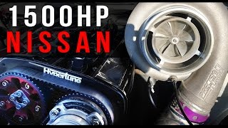 World's quickest stock chassis Nissan (RB powered)