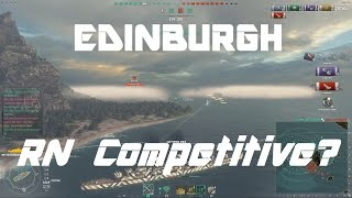 Edinburgh - Is The Royal Navy Competitive?