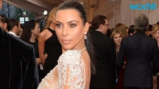 Kim Kardashian's Wearing Beyonce's Rehash to the Met Gala 2015