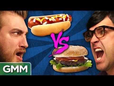 Hot Dogs vs. Hamburgers: Debate-o-Rama