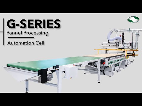 G-Series Automated CNC Router Panel Processing Cell - by C.R. Onsrud