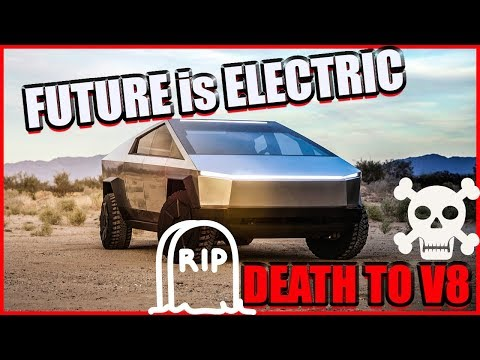 TELSA CYBER TRUCK is killing V8 Engine's!!! THE FUTURE IS ELECTRIC... (MUST WATCH)