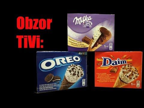 Obzor TiVi: мороженое Oreo,...