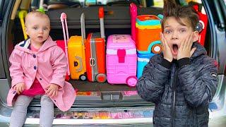 Cinq Enfants Comptines pour Bébé Beaucoup de valises Chansons pour enfants