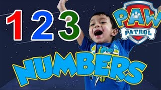Let us LEARN NUMBERS with RAWSON   COUNTING PAW PATROL