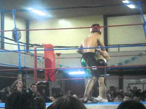 Alexander Dominguez Round 3 Comercial Boxing Gym  Ing.white