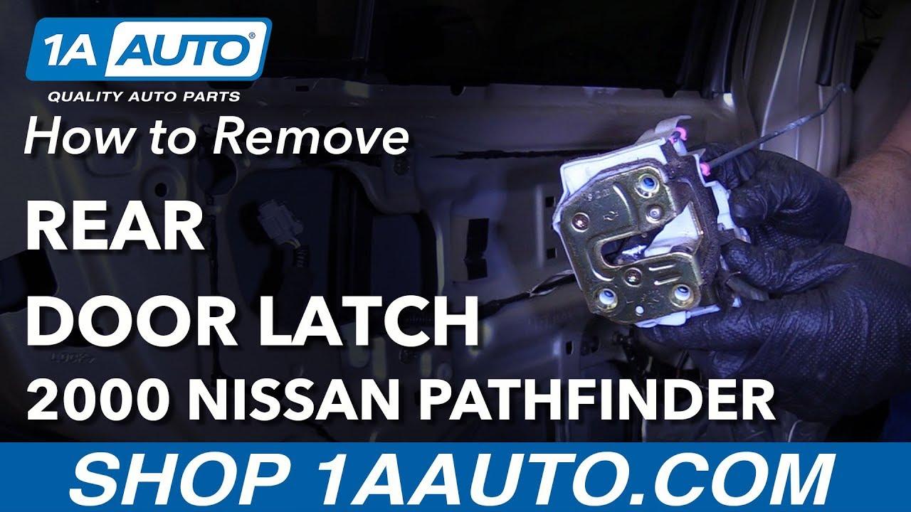 How to Remove Door Latch 96-04 Nissan Pathfinder