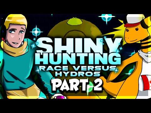 SHINY POKEMON RACE! VS Hydros #2 ORAS #ShinyHuntingRace LIVE!