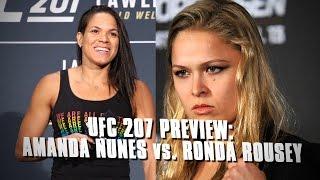 UFC 207: Amanda Nunes vs. Ronda Rousey Preview