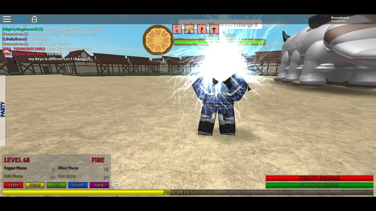 Avatar The Last Air Bender Roblox The Comet By Mythali