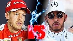Hamilton vs Vettel | All battles