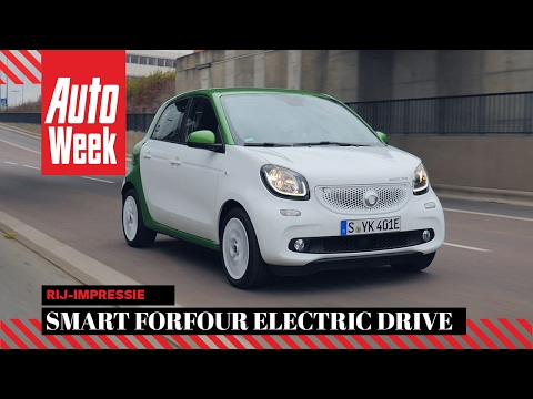 Smart Forfour Electric Drive - AutoWeek review