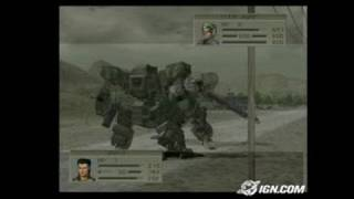 Front Mission 4 PlayStation 2 Gameplay