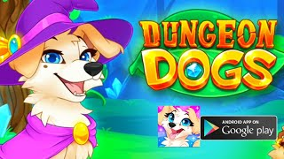 Dungeon Dogs - Idle Hero RPG [Android -IOS] Gameplay -Walkthrough 1(by PocApp Studios AB)