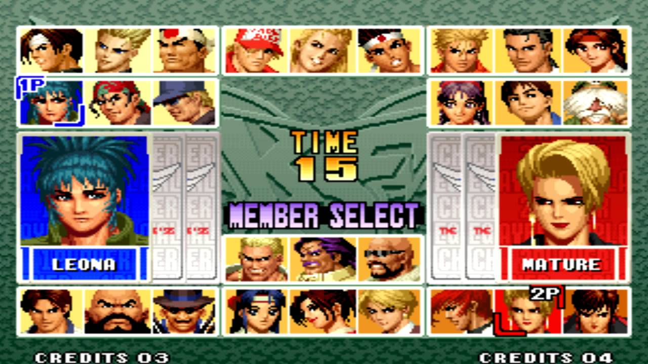 The King Of Fighters 96 In 1996 Roulette Sega Genesis