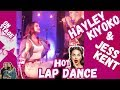 HAYLEY KIYOKO Gives JESS KENT A Hot LAP DANCE On-Stage
