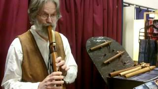 Flutewalker-Native American Wood Flutes, Presented by Woodcraft