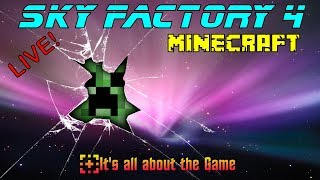 Survival Modded Minecraft - Sky Factory 4 | LIVE |  Family Friendly