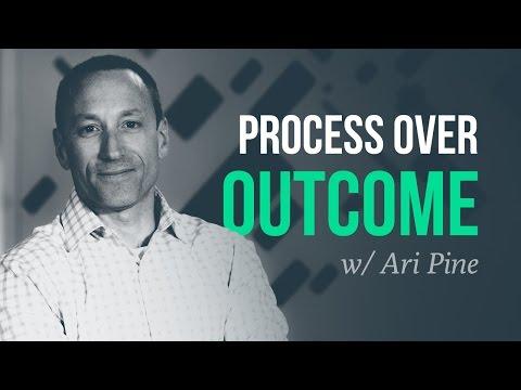 Scientific trading, and process over outcome | Ari Pine