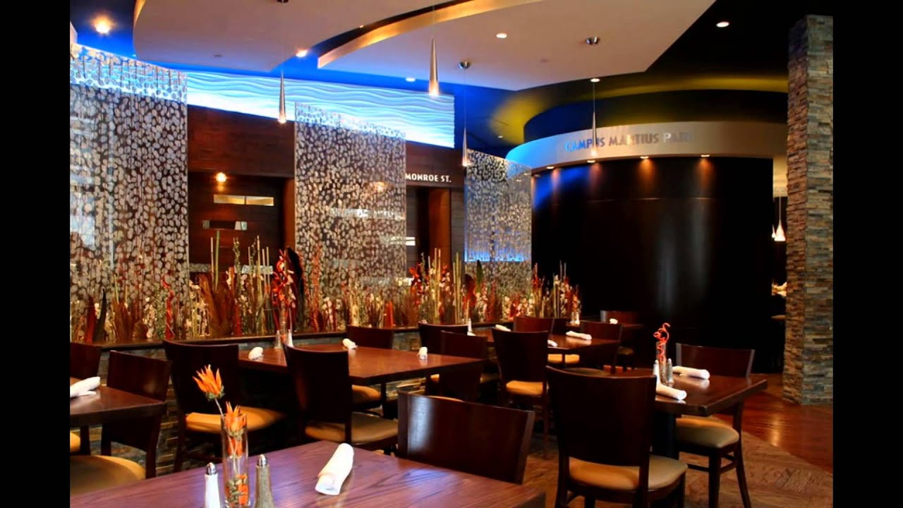 Top restaurant interior designs trends applying