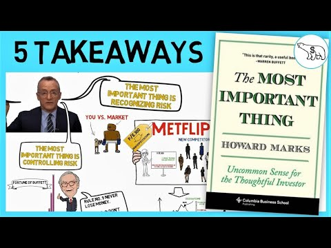 THE MOST IMPORTANT THING (BY HOWARD MARKS)