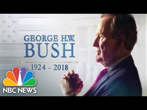 Special Report: Texas Departure Ceremony For George H.W. Bush | NBC News