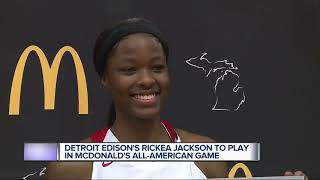 Rickea Jackson to play in McDonald's All-American Game