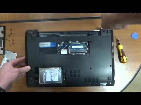 How To Take Apart Disassemble Asus X450C Laptop