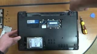 laptop asus x53u disassembling