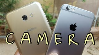 iPhone 6 vs Samsung A7(2017) Camera Comparison | True Comparison!
