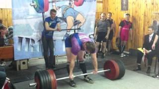 Федотов Тимур тяга 325 кг