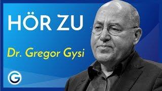 Warum es besser ist Gespräche zu führen, als Reden zu halten // Dr. Gregor Gysi