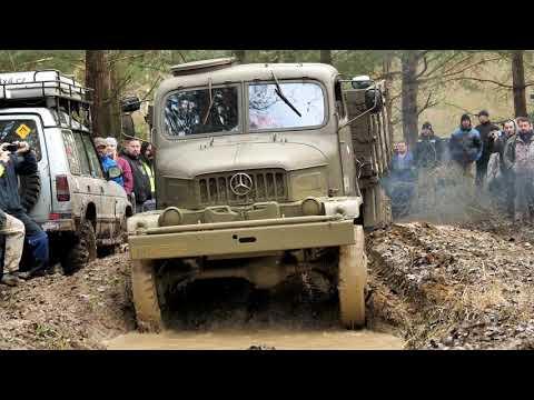 4x4 offroad Stříbrský BláŤák 2019 - Praga V3S, Land Rover Defender, Nissan Patrol, special (4K)