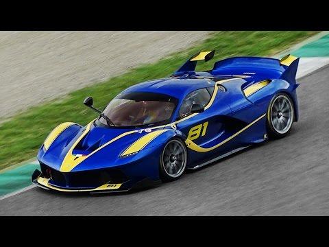 21 Different Ferrari FXX K Screaming...