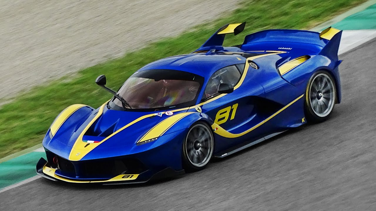 2018 ferrari fxx k evoluzione. beautiful evoluzione 21 different ferrari fxx k screaming around mugello circuit  youtube intended 2018 ferrari fxx k evoluzione l