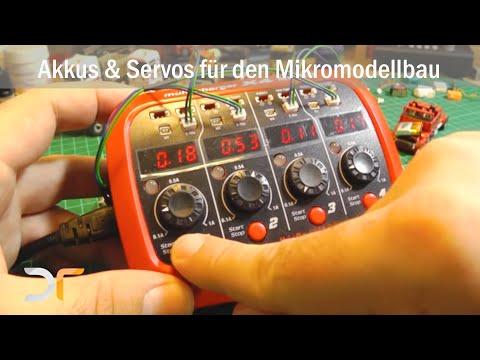 Elektronik für den Mikromodellbau | Akkus und Servos | RC 1:87