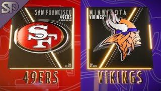 Week 1: 49ers/Vikings Thoughts/Reaction