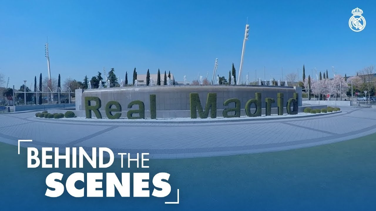 INSIDE Real Madrid City | BEHIND the first-team physiotherapist