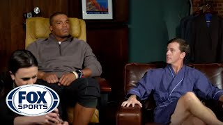 Cam Newton's hilarious trip to the spa with Cooper Manning - #MANNINGHOUR